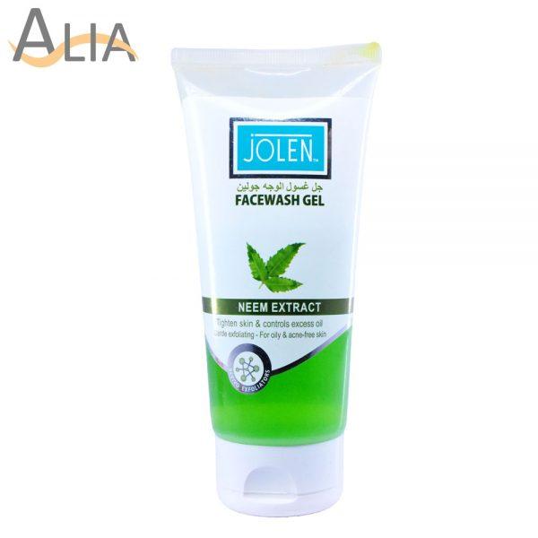 Jolen facewash gel neem extract usa