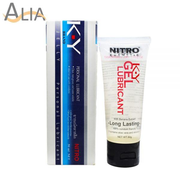 Nitro cosmetics k.y gel personal lubricant 50ml