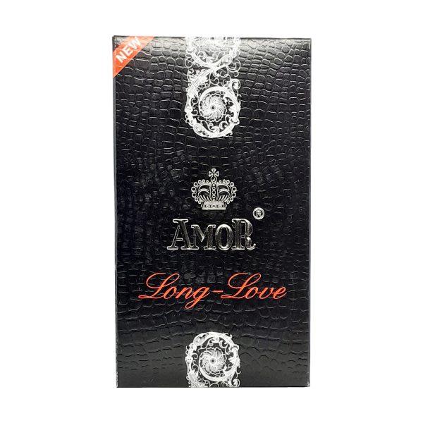 Amor Long Love Delay Condoms 12 Pieces Original