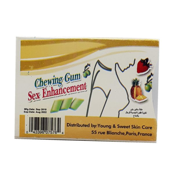Chewing Gum Sex Enhancement For Women Yellow