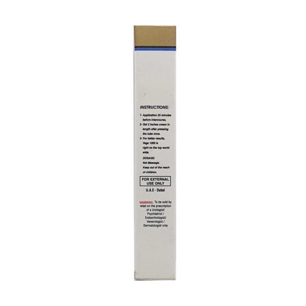 Golden Vega 1000 Rejuvenating & LongTime Cream For Men