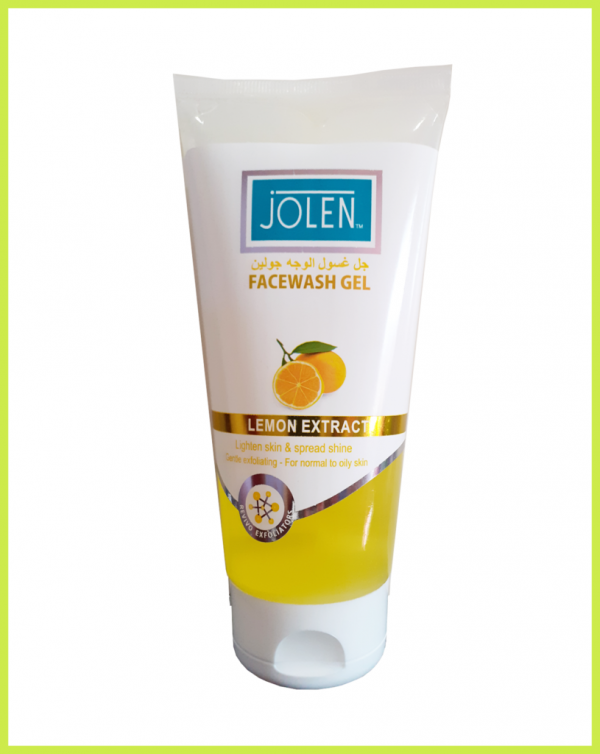 Jolen FACEWASH GEL LEMON EXTRACT USA