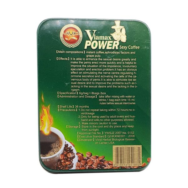 Viamax Power Sexy Coffee for Men