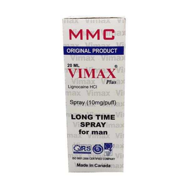 Vimax plus Long Time Spray Original Product 20ml Canada