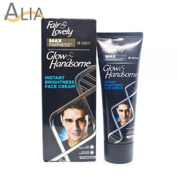 Fair & lovely glow & handsome instant brightness face cream (50g) 7