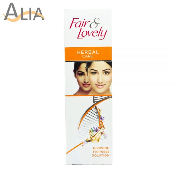 Fair & lovely herbal care glowing fairness solution (25g)