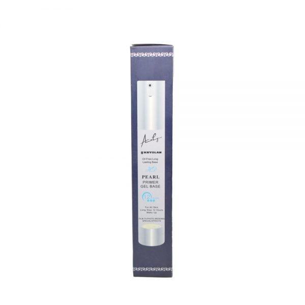 Kryolan pearl primer gel base oil free long lasting base (35ml).