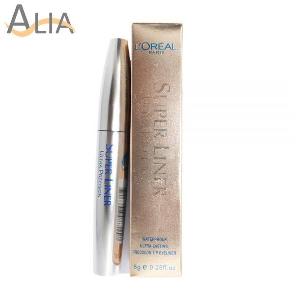 L'oreal super liner ultra precision waterproof liquid eyeliner (8g)
