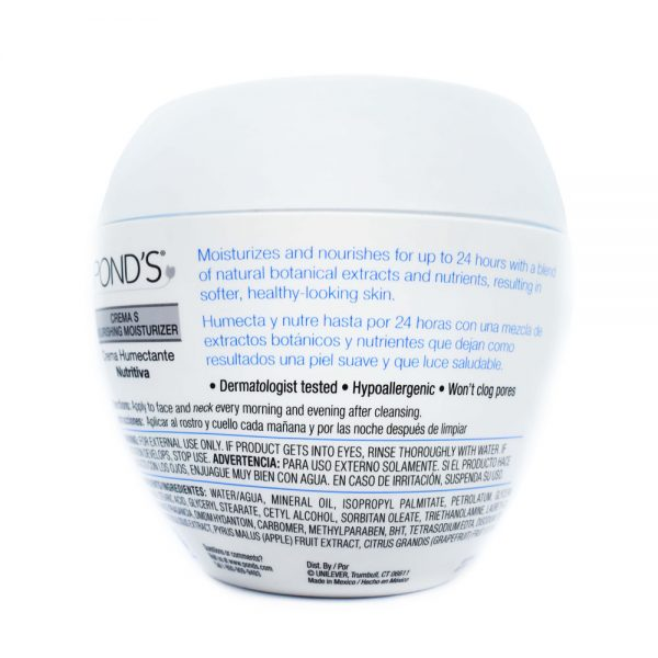 Pond's crema s nourishing moisturizer cream 14.1 oz. (400g) 1