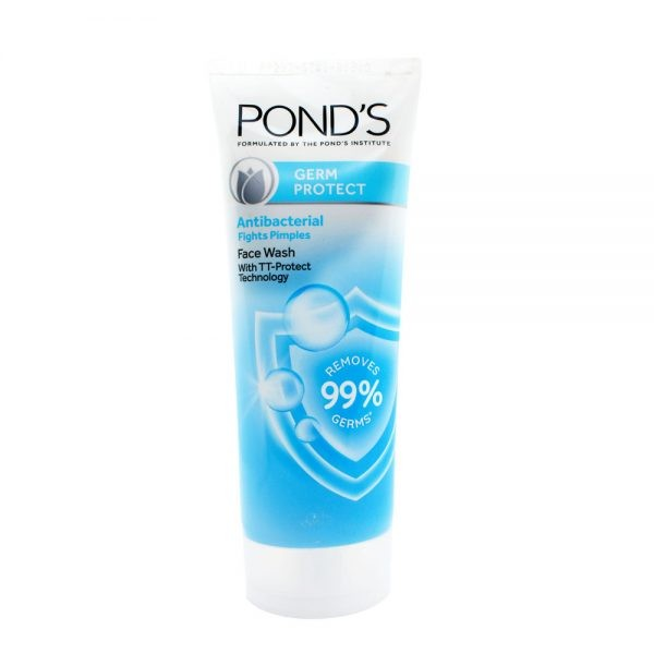 Pond's germ protect antibacterial fights pimples face wash