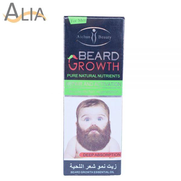 Aichun beauty beard growth pure natural nutrients essential oil