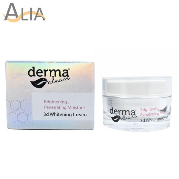 Derma clean brightening prenetrating moisture 3d whitening cream (30g) 4