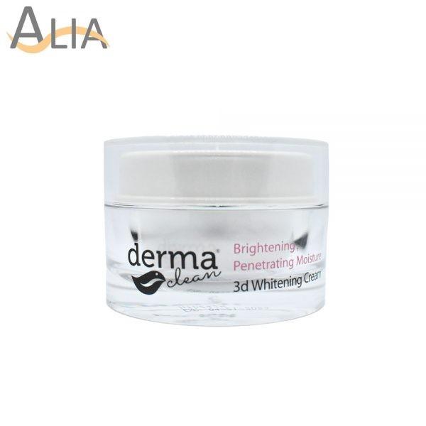 Derma clean brightening prenetrating moisture 3d whitening cream (30g) 5