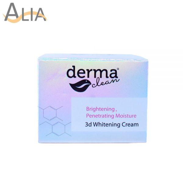 Derma clean brightening prenetrating moisture 3d whitening cream (30g)