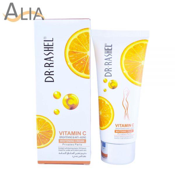Dr. rashel vitamin c brightening & anti aging whitening cream for private parts (80 g) 1