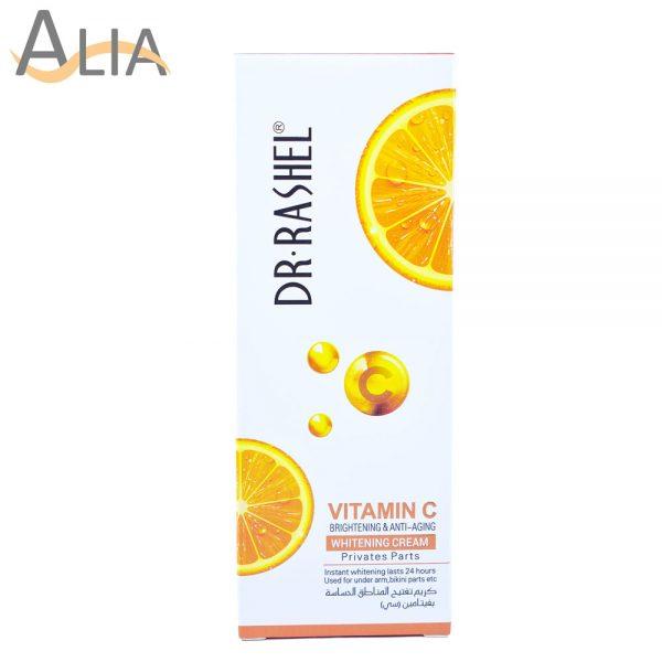 Dr. rashel vitamin c brightening & anti aging whitening cream for private parts (80 g) 2