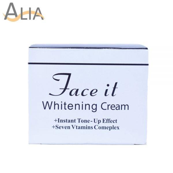 Face it whitening cream