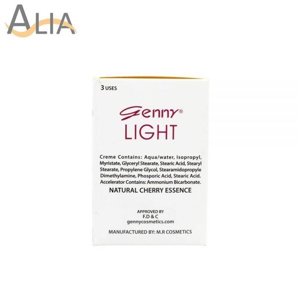 Genny light fairness cream bleach 3 uses 1