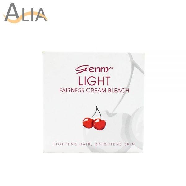 Genny light fairness cream bleach 3 uses