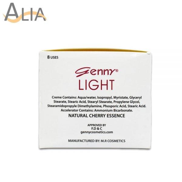 Genny light fairness cream bleach 8 uses 2