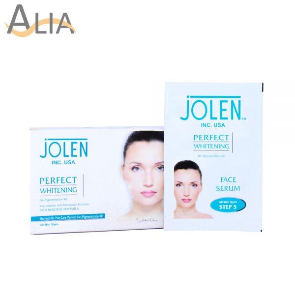 Jolen perfect whitening skin renewal formula pigmentation kit