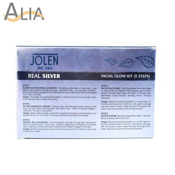 Jolen real silver facial kit skin renewal formula (all skin types) 2