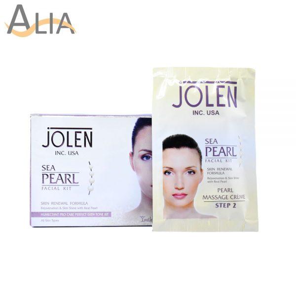Jolen sea pearl facial kit skin renewal formula (all skin types)1