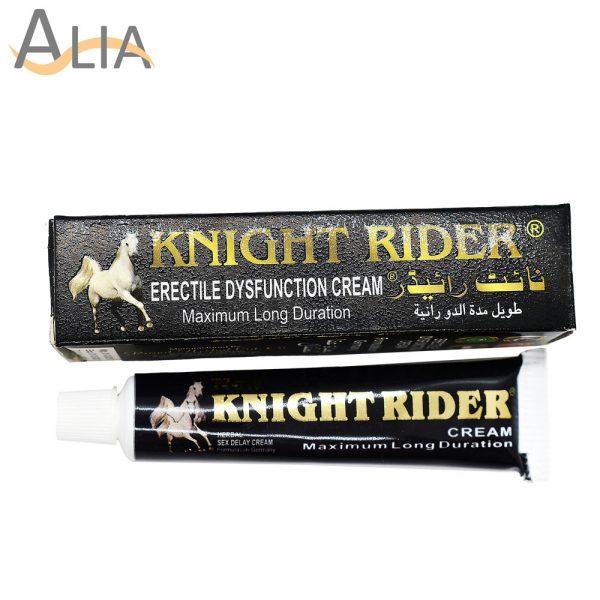 Knight rider erectile dysfunction cream maximum long duration.