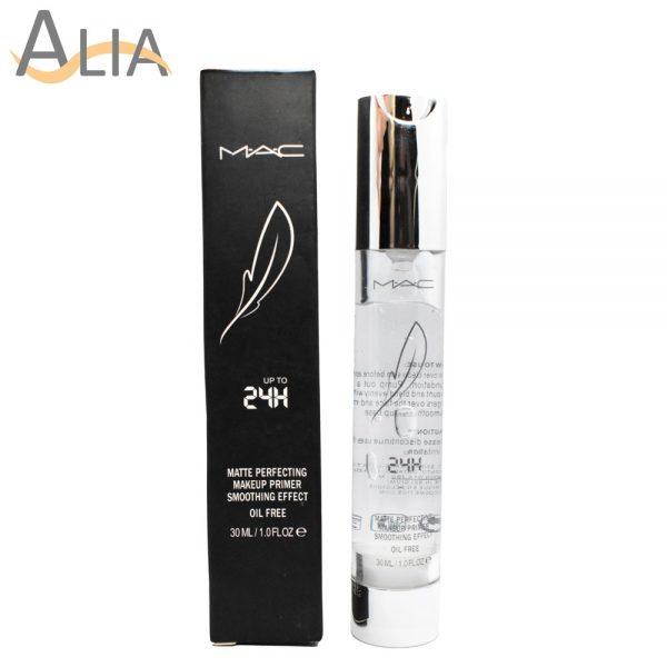 Mac matte perfecting makeup primer smoothing effect oil free, 30ml
