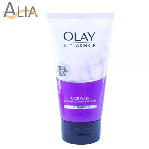 Olay facewash with exfoliating particles (150ml)