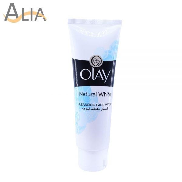 Olay natural white cleansing facewash (100ml)