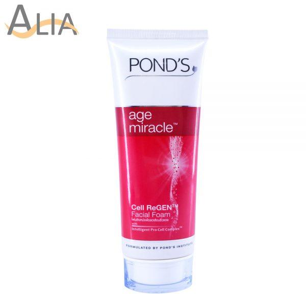 Ponds age miracle cell regen facial foam (100g)