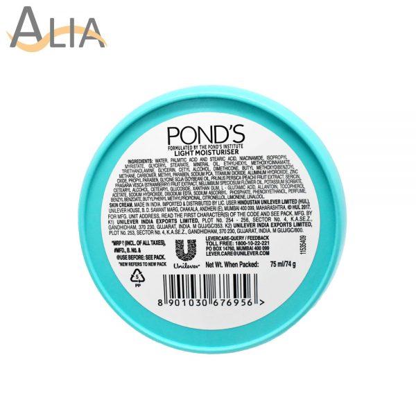 Pond's light moisturizer non oily fresh feel 74g 2