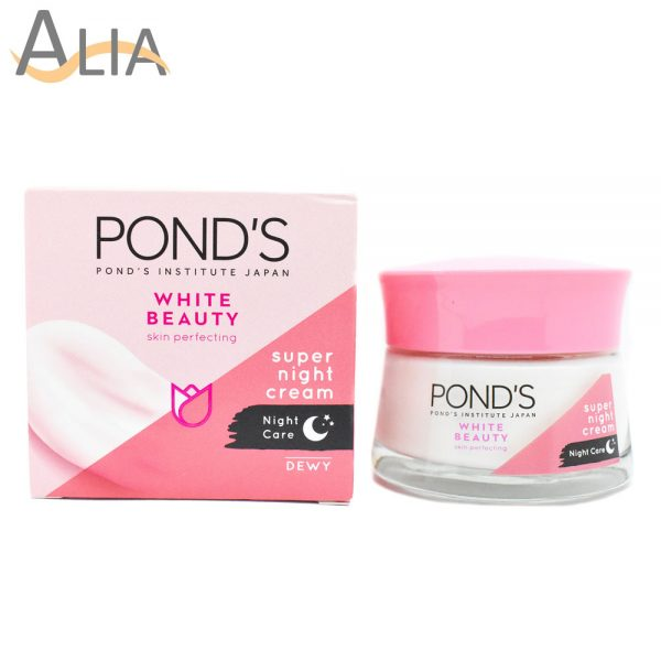 Ponds white beauty skin perfecting night cream (50g) 5