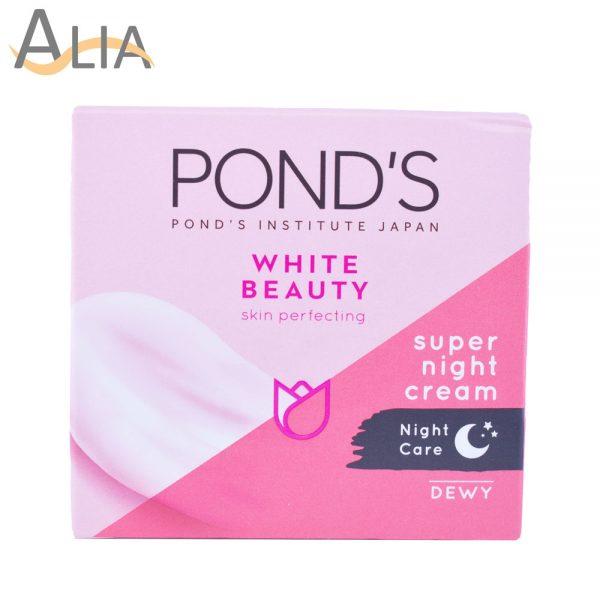 Ponds white beauty skin perfecting night cream (50g)