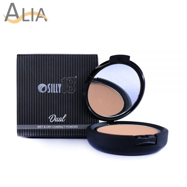 Silly 18 dual wet & dry compact powder sf 45