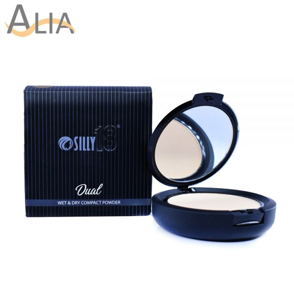 Silly18 dual wet & dry compact powder (be 1)