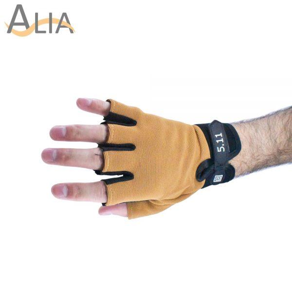 5.11 stylish tactical gloves half finger