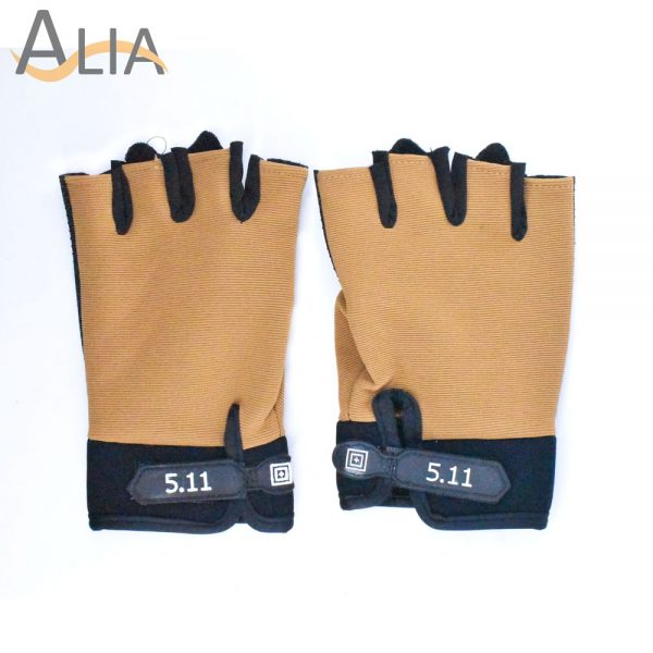 5.11 stylish tactical gloves half finger.
