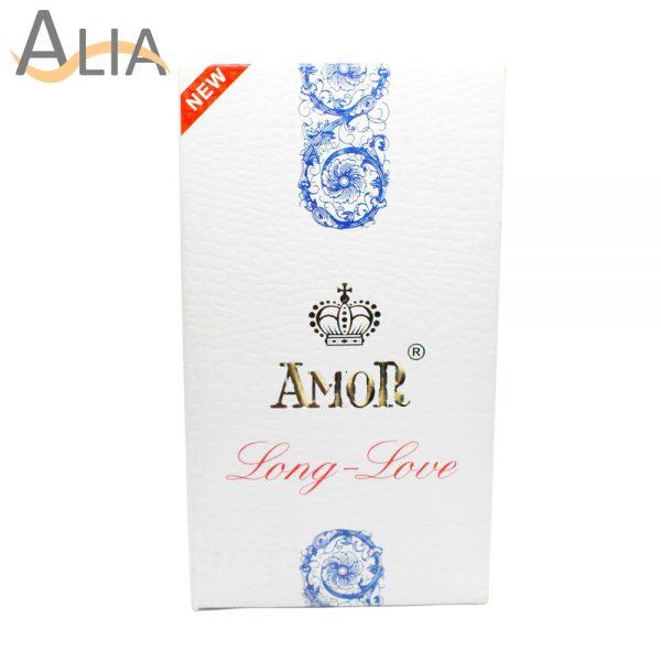 Amor long love condoms 12 pieces