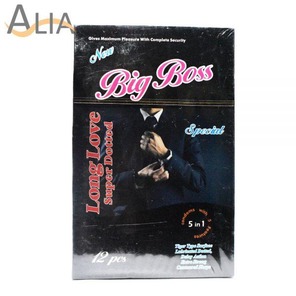Big boss long love super dotted condoms (12 pcs)
