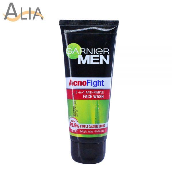 Garnier men acnofight 6 in 1 anti pimple facewash (100ml)