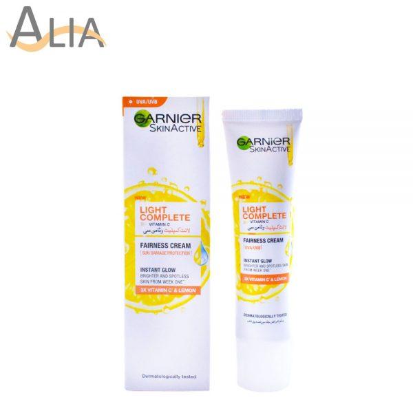 Garnier skinactive light complete vitamin c fairness cream with sun damage protection (25ml)