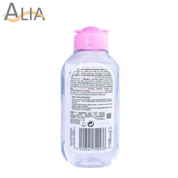 Garnier skinactive micellar cleansing water (125 ml) 1