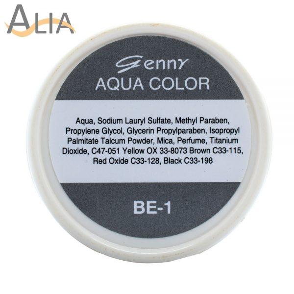 Genny aqua face language color be 1.