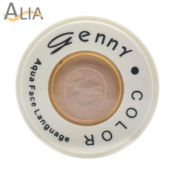 Genny aqua face language color natural