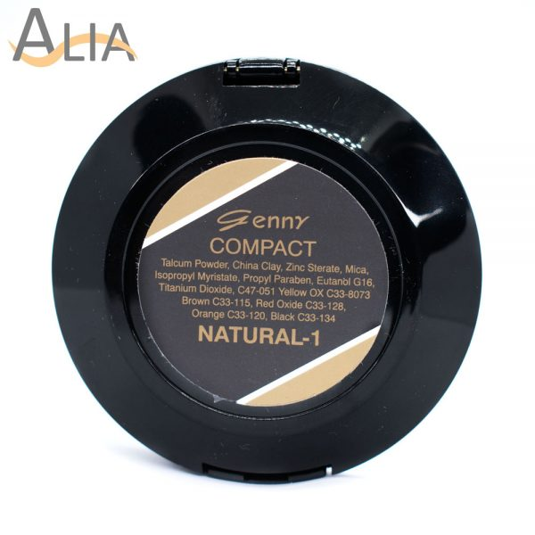 Genny compact powder color natural 1.
