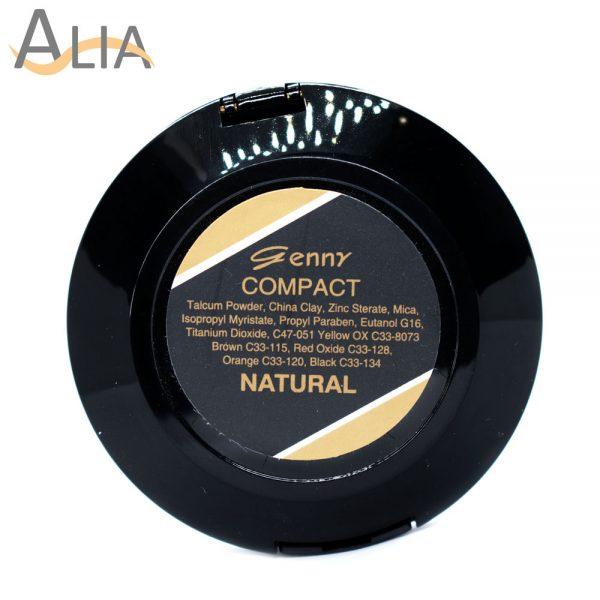 Genny compact powder color natural.
