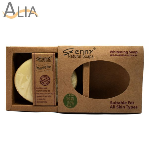 Genny natural whitening soap for all skin types
