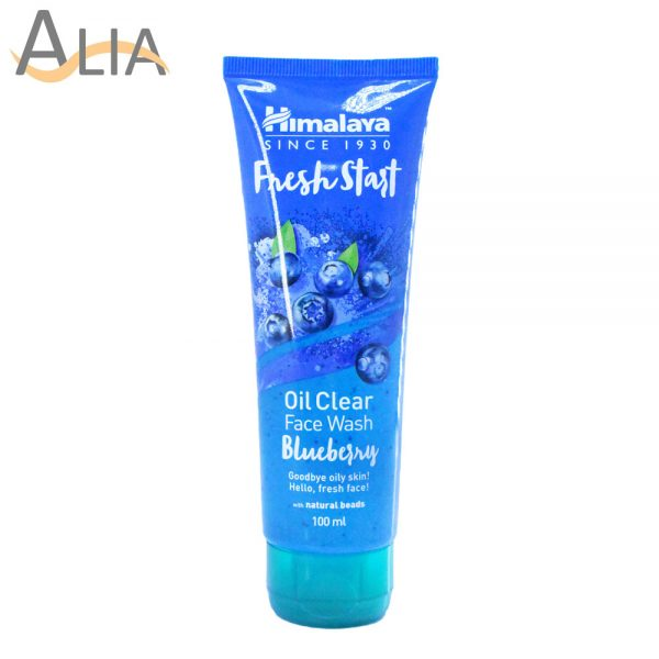 Himalaya fresh start oil clear blueberry facewash (100ml)